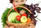 Учим ребенка есть овощи
