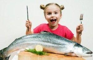 Рыба в меню ребенка