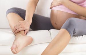 Педикюр во время беременности