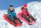 Зимний транспорт для детей